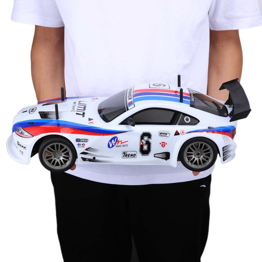 J601-1 1/10 1400mAh 2.4G Racing Car 1:10 RC Model Car 25KM/h Flat Sports Drift Vehicle Toys 2 Batteries EU Plug For Children