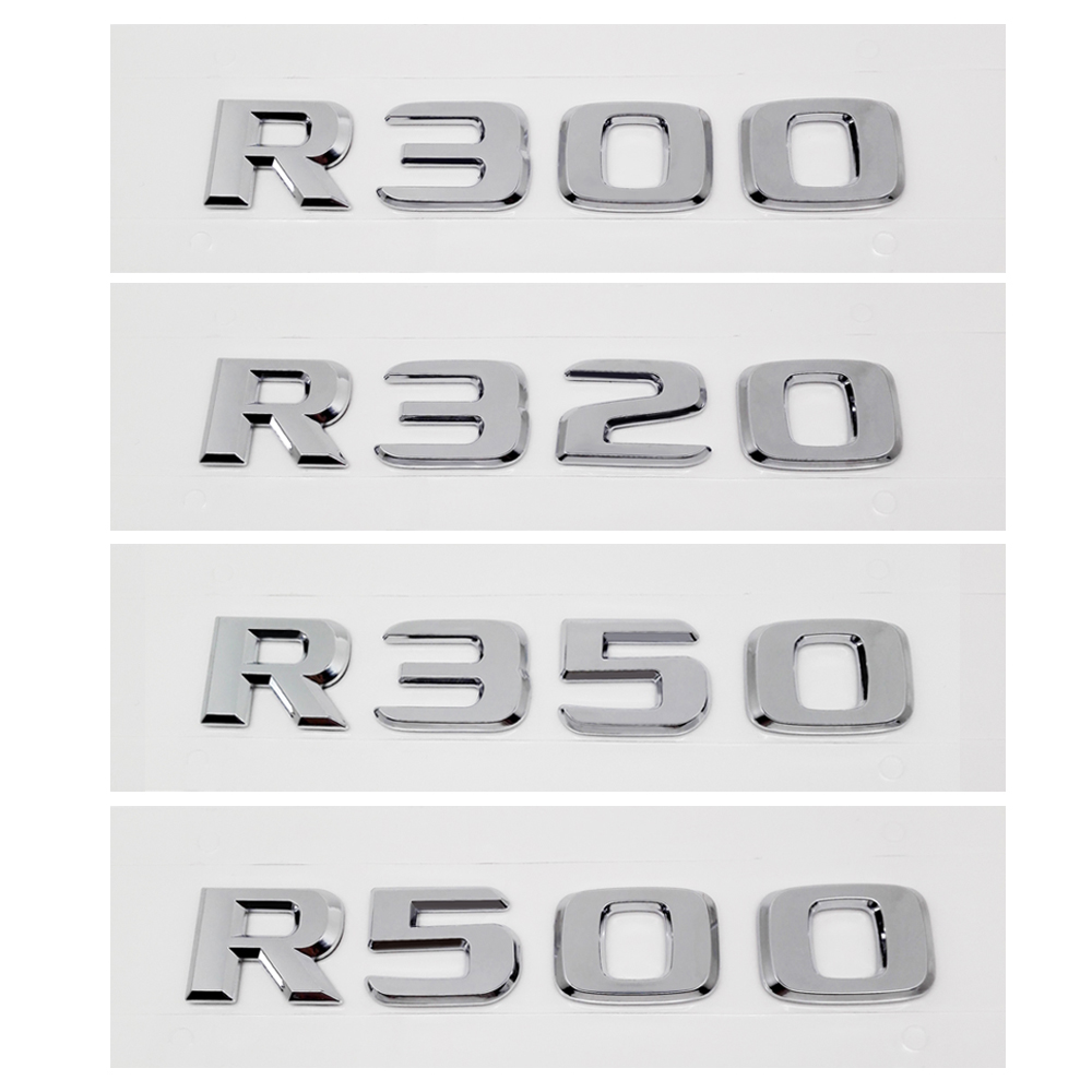For Mercedes Benz R Class R300 R320 R350 R500 W148 W149 New Car Rear Tail Sticker Emblem Badge Number Decal Auto Accessories|car accessories|accessories for mercedes|emblem badge - title=