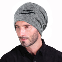 winter toque Hat mens spring and autumn thin section caps hip hop pile hat fashion wild Knittedhat baotou Snap Slouch hats