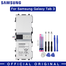 Samsung Original Tablet Battery T4500E 6800mAh For Samsung Galaxy Tab 3 10.1 GT-P5210 P5200 P5220 P5213 Batteries Free Tools tempered glass for samsung galaxy tab 3 10 1 tab3 p5200 p5220 p5210 sm p5200 gt p5200 gt p5220 tablet screen protector film