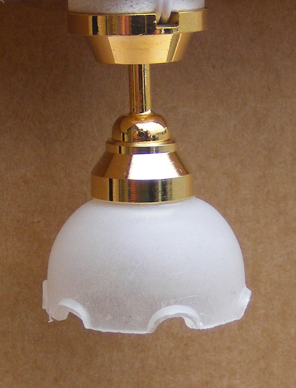 1:12 Dollhouse Miniature Furniture Ceiling Lamp Battery Operated LED Light