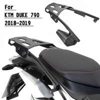 For KTM Duke790 Rear Luggage Rack Carrier Fender Holder Cargo Shelf Top Mount Bracket 2018 2019 Duke 790 Accessories Moto Parts