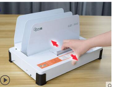 220V Automatic Hot Melt Binding machine A4 A5 A6 Book Envelope Binder 1-38mm