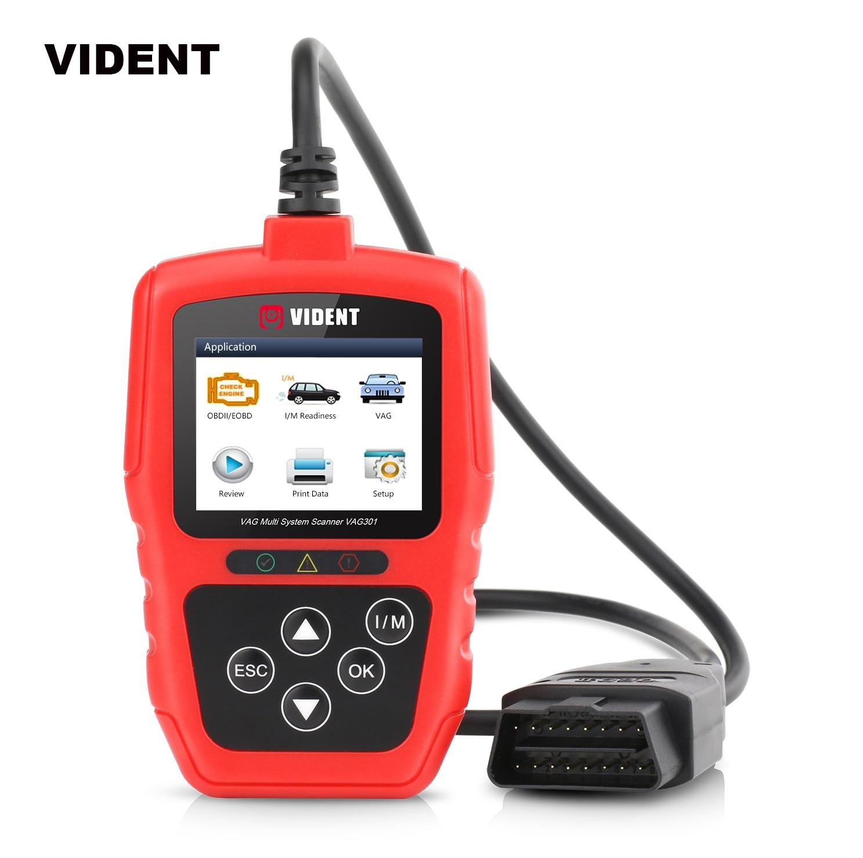 Vident Full System OBD2 Scanner for VW Audi Skoda VAG Car Diagnostic Tool DPF BRT Oil EPB TPS SAS Immo Airbag Reset PK VD700