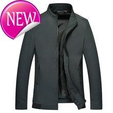 Xxxxxxl, yeni büyük erkek bahar ceket, pürüzsüz fermuar ceket, gayri resmi ceket