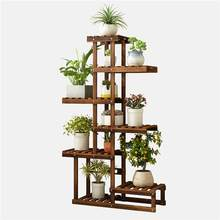 Etagere Plante Estanteria Plantas Shelf For Huerto Urbano Madera Plant Rack Outdoor Stojak Na Kwiaty Dekoration Flower Stand(China)