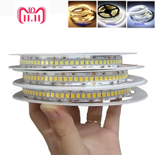 5m 2018 New High CRI 90 4000K 240LED/m 24V LED Strip Light 2835 0.2w warm white 1800lm/m For Home