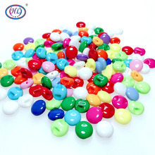 HL50/150PCS 10MM Coloful Resin Buttons Children's Buttons DIY Apparel Sewing Accessories