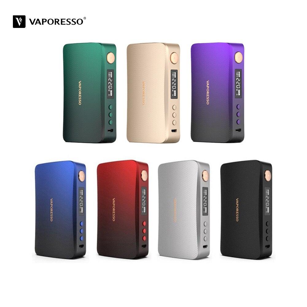 Оригинальный 220 Вт испаритель GEN коробка мод электронная сигарета, пригодный для 8 мл SKRR-S Танк против LUXE-S БПК для модов электронных сигарет