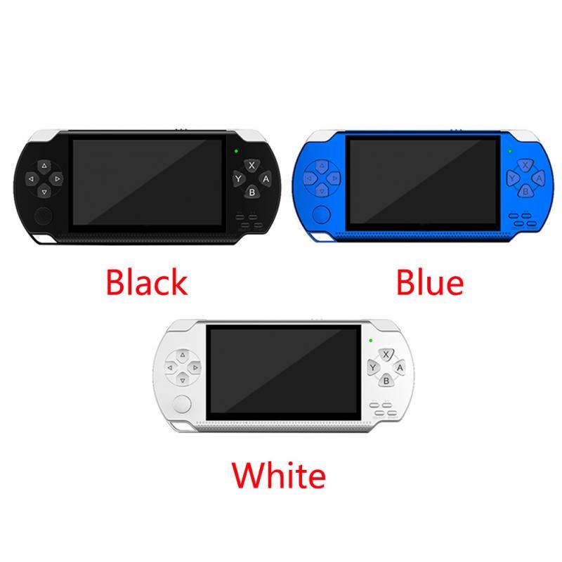PSP כף יד קונסולת משחקי 4.3 אינץ תמיכת נגן MP5 MP4 MP3 עם מסך 8G Easy מבצע עבור משחק PSP, מצלמה, וידאו, ספר אלקטרוני (3)