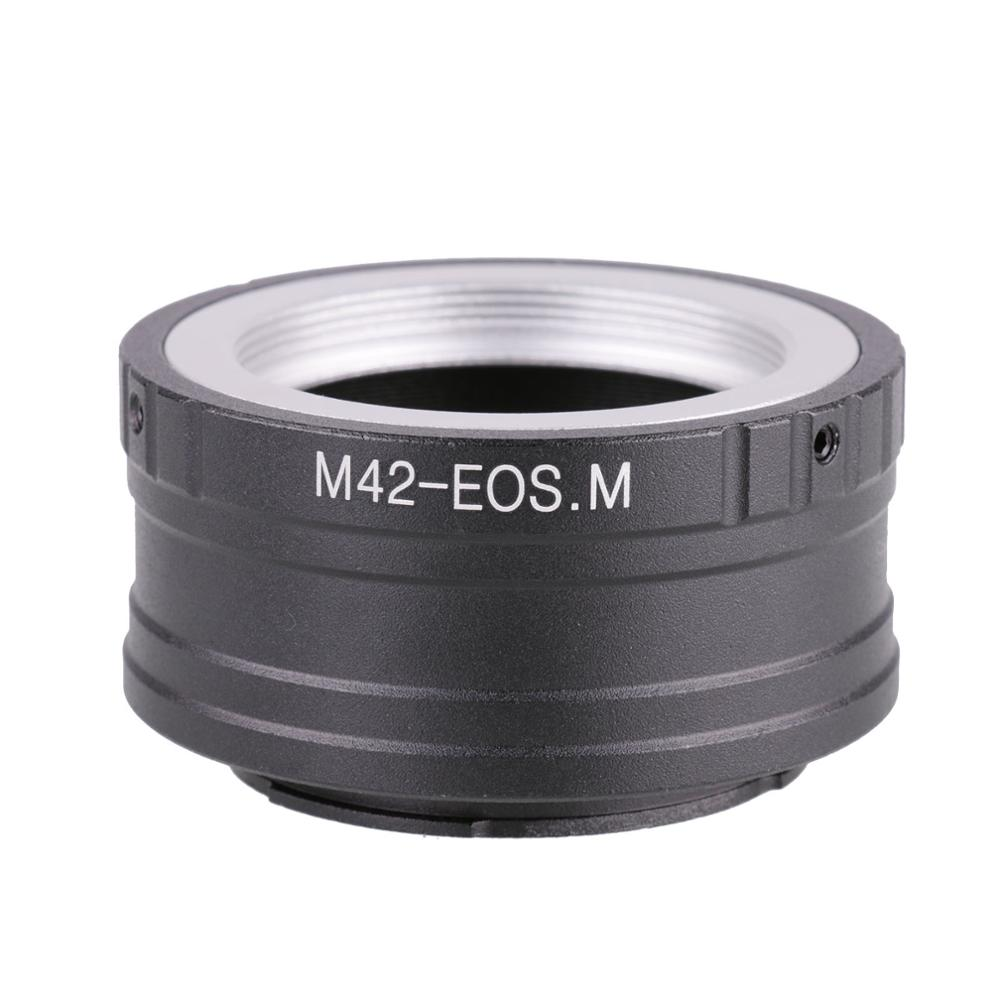 M42-EOSM Lens Adapter Ring For Canon EOSM M2 M3 EF-M Mirrorless Camera
