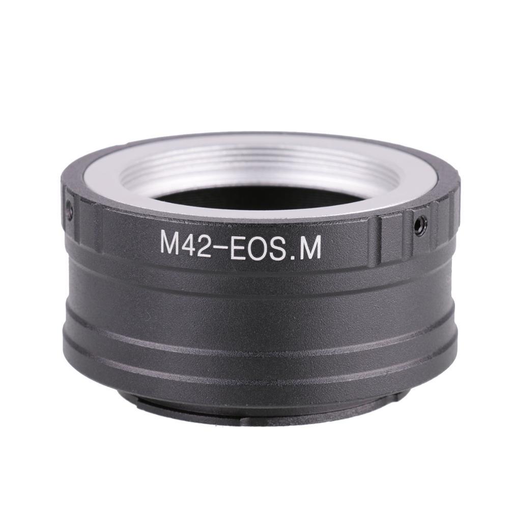 M42-EOSM Lens Adapter Ring For Canon EOSM M2 M3 EF-M Mirrorless Camera