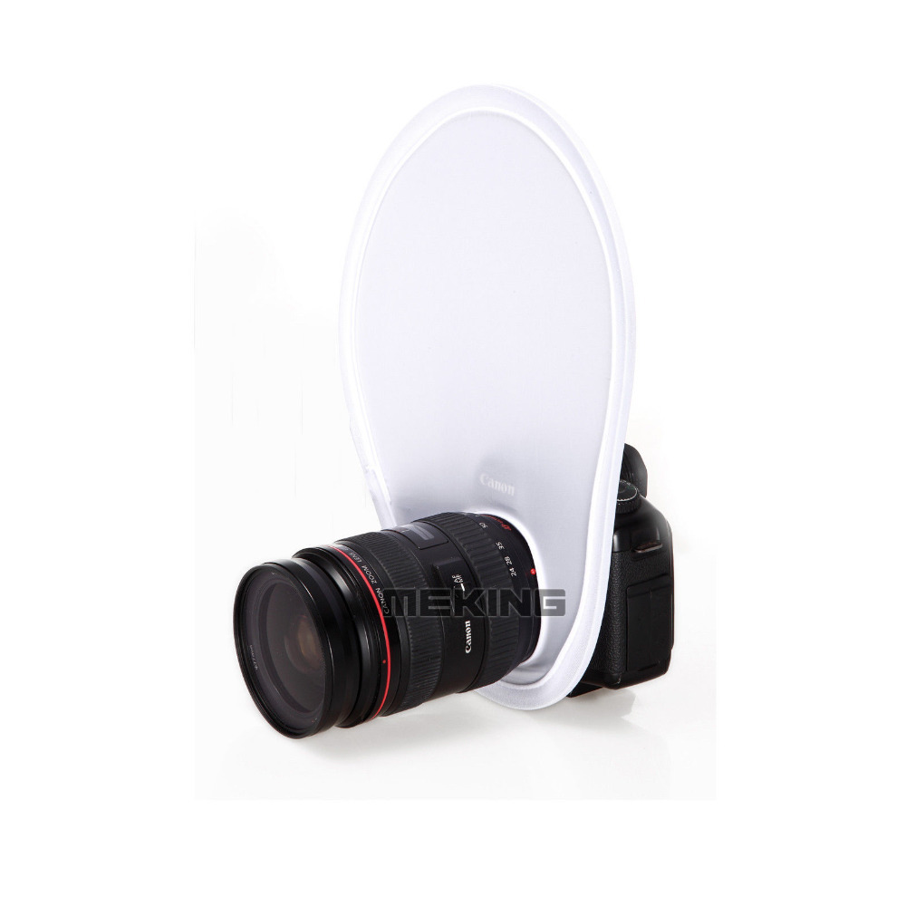 Meking Photography Flash Lens Diffuser Reflector Flash Diffuser Softbox For Canon Nikon Sony Olympus DSLR Camera Lenses