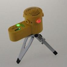 Лидер продаж по всему миру Многофункциональный перекрестный лазерный нивелир вертикальный горизонтальный линейный инструмент со штативом светодиодный с функцией ночного видения