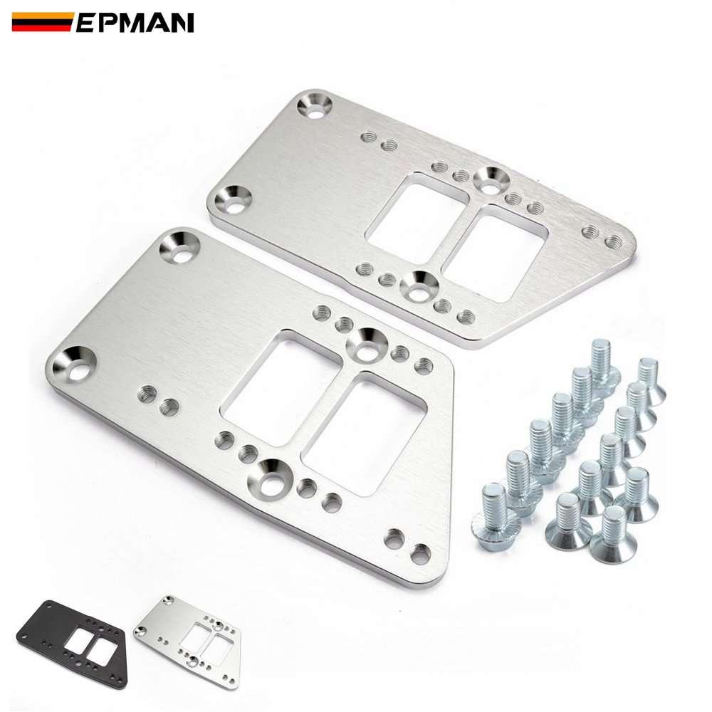 EPMAN Motor Halterungen Billet Motor Swap Halterung Für Umwandlung Motor Mount Einstellbare Platte Ls1 EPEML1036LS