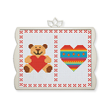 Decoration Home Hand Embroidery Cross Stitch Kits With Frame