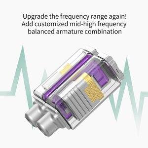 Image 5 - KZ ZSX 1DD + 5BA 12 وحدة الهجين سماعات أذن داخل الأذن HIFI المعادن سماعة الموسيقى الرياضة KZ ZS10 برو AS12 AS16 ZSN برو C12 DM7 as06 v90