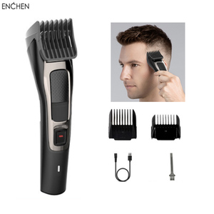 Image 1 - Yeni ENCHEN Sharp3S erkek elektrikli saç kesme USB şarj edilebilir profesyonel saç düzeltici saç kesici erkekler için yetişkin jilet