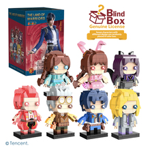 BanBao Blind Box The Land Of Warriors Douluo Continent Anime characters building blocks DALU figure bricks friend Cartoon Toys