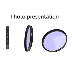 Image 3 - Оптическое стекло 46/49/52/58/62/67/72/77/82 мм прозрачный ночной фильтр многослойное нанопокрытие уменьшение загрязнения для ночного неба/звезды