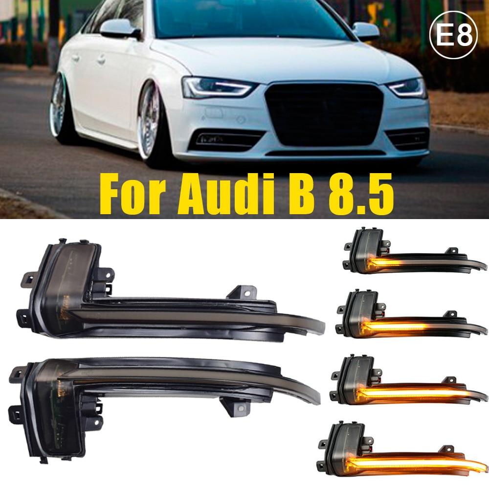 Для Audi A4 A5 S5 B8.5 B8 RS5 RS4 S6 S4 динамический индикатор мигалка запуска дыхание светильник 2 шт. крыло превосходные зеркало индикатор