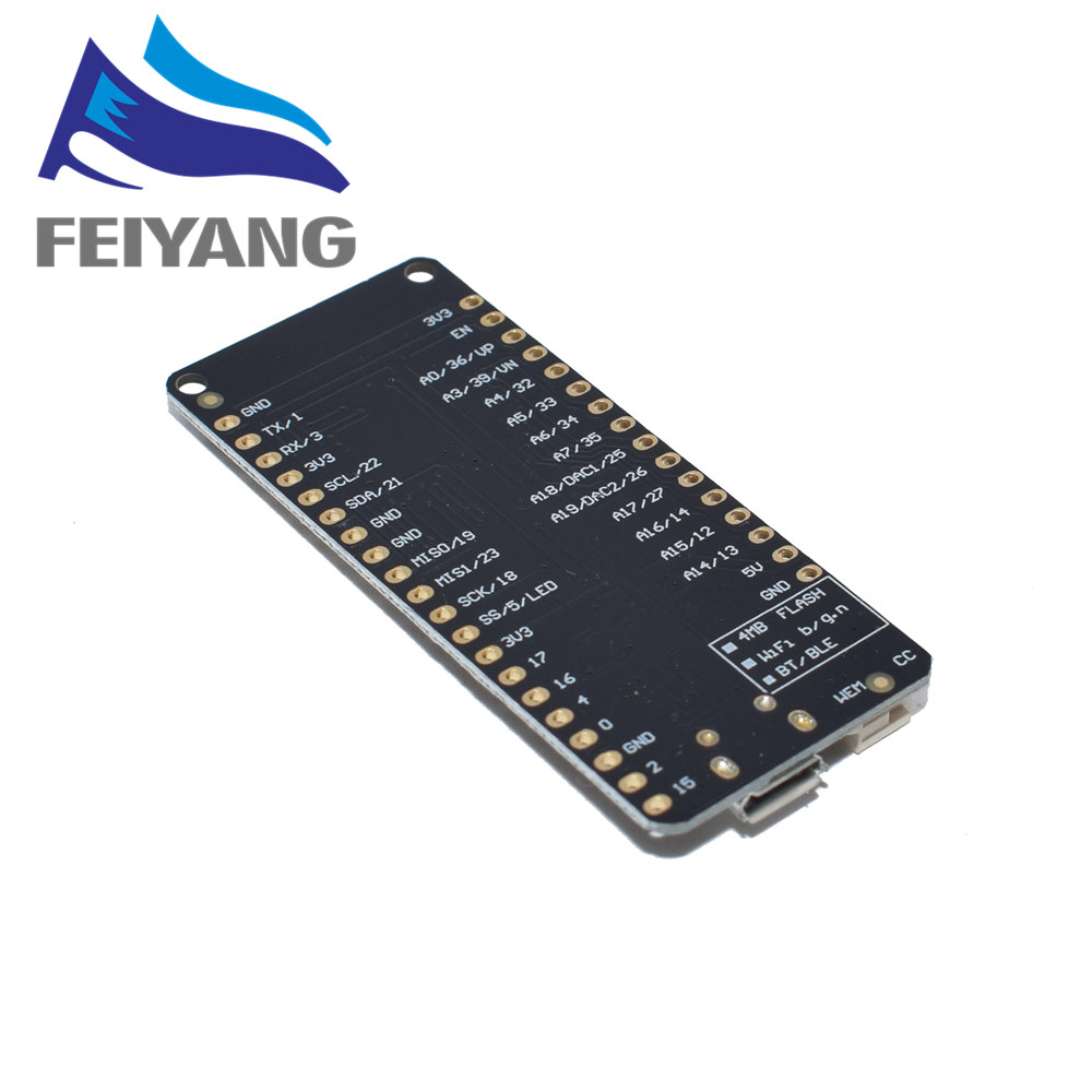 Image 2 - 10PCS ESP32 ESP 32 ESP 32S ESP32S For WeMos Mini D1 Wifi Bluetooth Wireless Board Module Based ESP WROOM 32 Dual Core Mode CPU-in Integrated Circuits from Electronic Components & Supplies