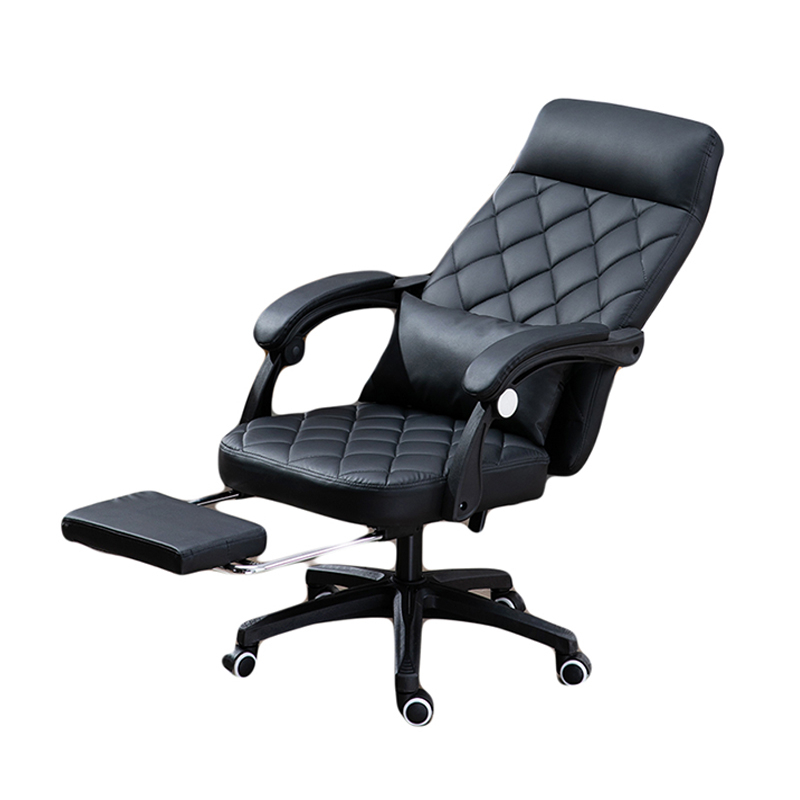 Luxury Quality Jy-666 Boss Live Office Chair Ergonomics With Footrest Wheel Synthetic Leather Can Lie Household