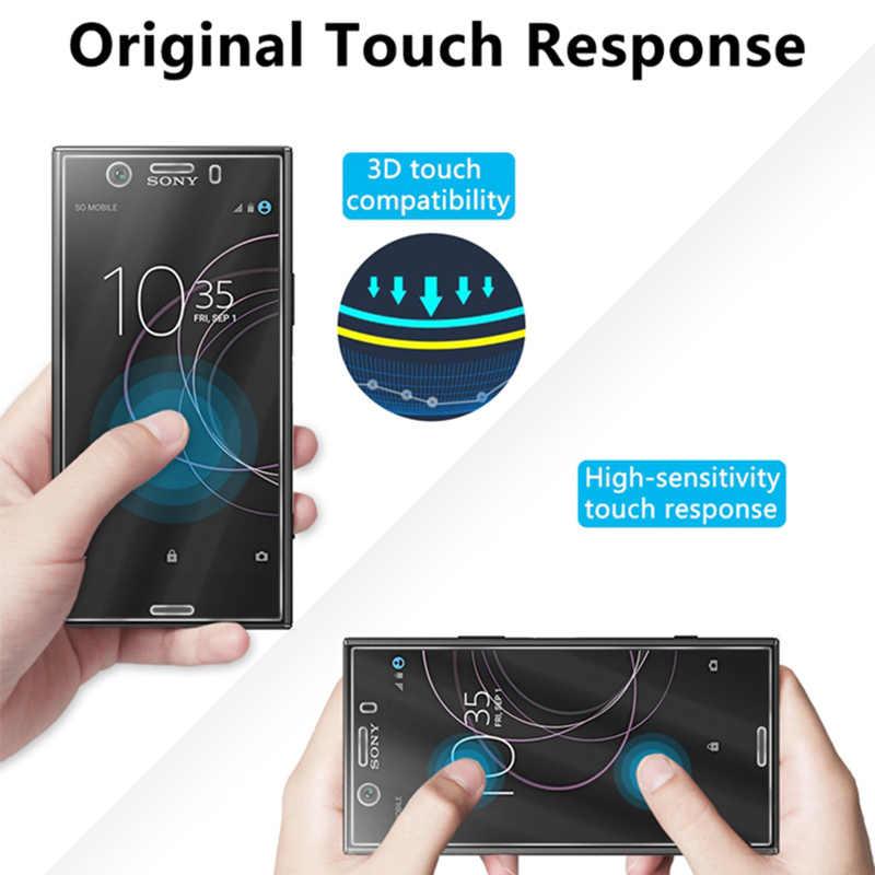 Schermo di Vetro Trasparente per Sony Xperia XZ XZS XZ2 Premium Vetro Temperato per Sony XZ3 XZ2 XZ1 Compatto di Vetro su xperia L L1 L2