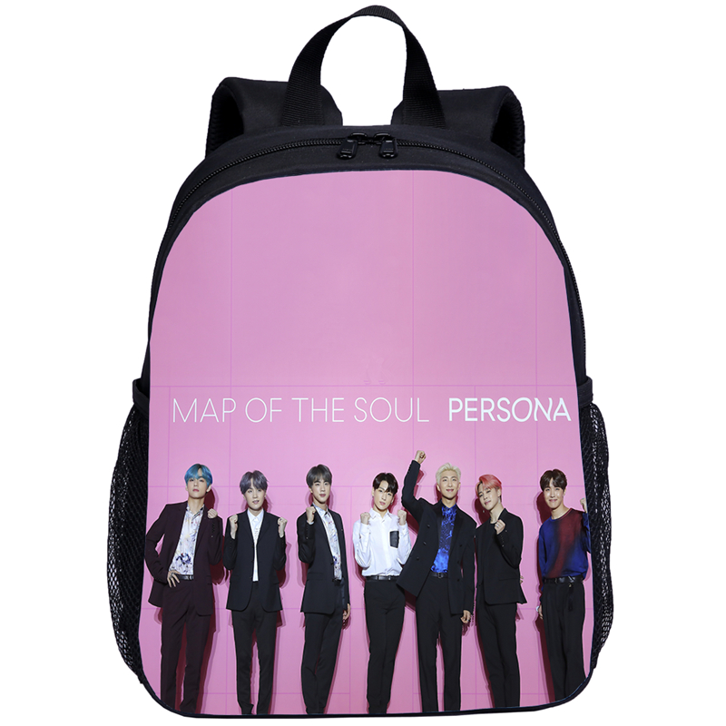 2020 3D 3-7 Year Old School Bags For Boys Backpacks Children Kpop Rap SUGA JUNG KOOK Baby Girl Bookbag Kids Bag Satchel Knapsack