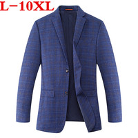 Plus size 10XL 9xl 8XL 7XL 6XL New Arrival Autumn And Winter Men's Suit Jacket Fashion Slim Fit Brazer Casual Blazers Men