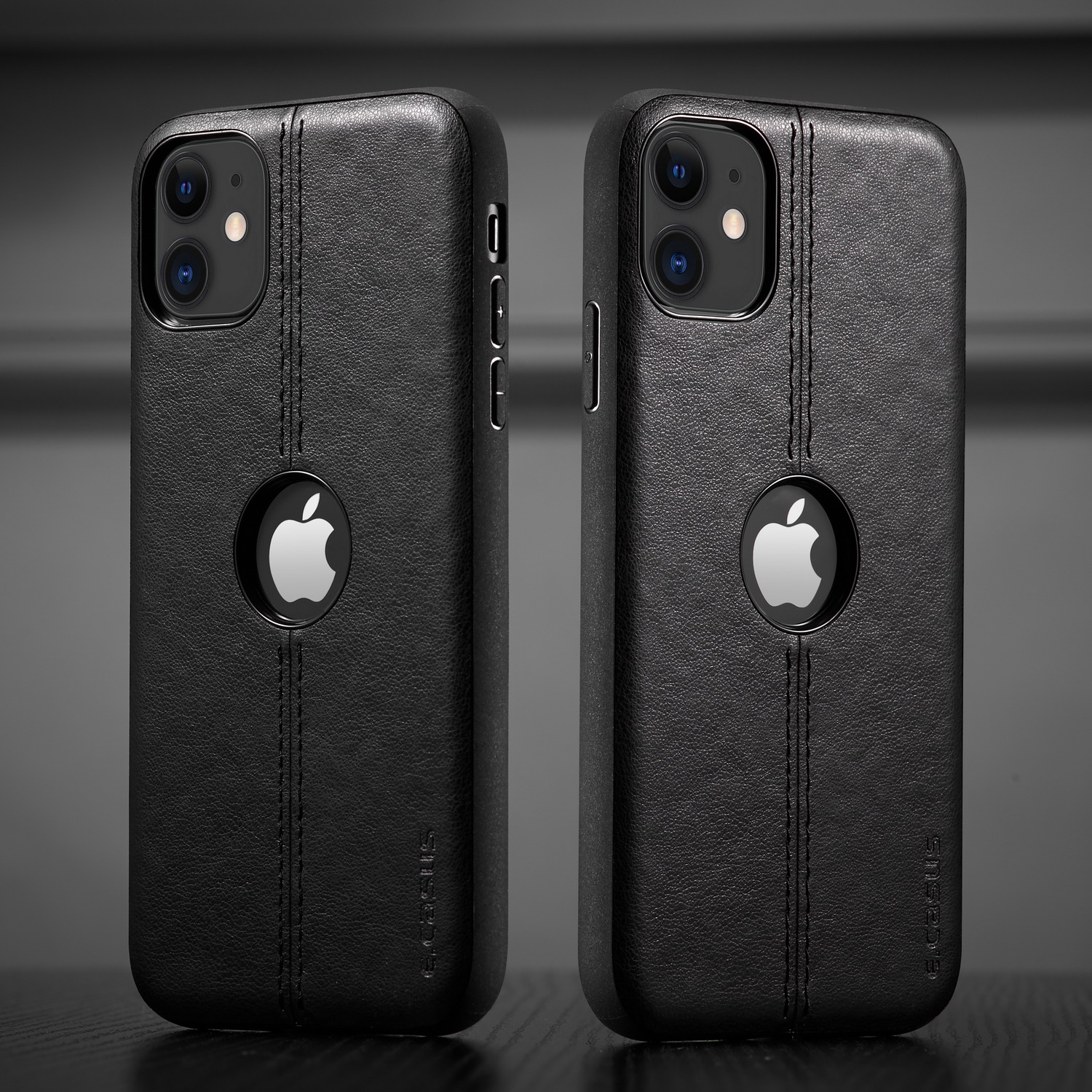 Hb3c357a3e10b49f1b9f0e3a3967257a2b For iPhone 11 11 Pro 11 Pro Max Case New SLIM Luxury Leather Back Case Cover For iPhone 11 XR XS MAX 8 7 6 Plus Shockproof Case