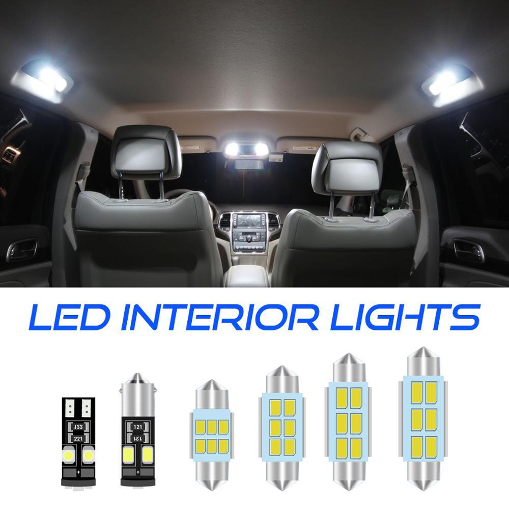 Cool white canbus car LED lamp bulbs Error free Interior map dome Lights kit for skoda for octavia 2 3 mk2 mk3 sedan combi 2005+