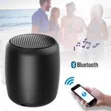 Mini Loudspeaker Bluetooth Speaker Portable Stereo Handsfree Music Wireless Bluetooth Speaker Built-in Mic Selfie Remote Control