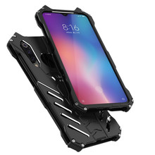 Luxury Batman Kickstand Shockproof Case For Xiaomi 9 9Pro Bumper Armor Metal Back Cover for Xiaomi 9SE 9 Pro Case