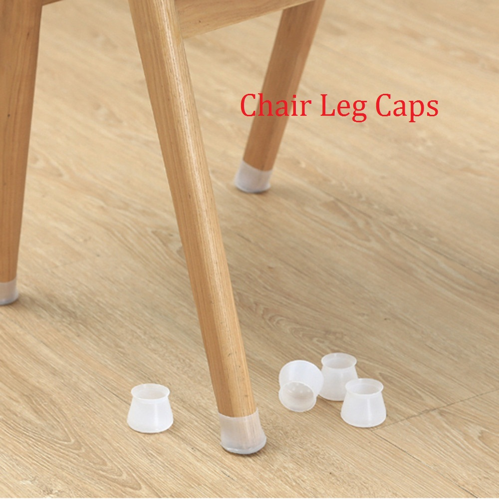 Rubber Feet 40mm 4pcs Table Chair Leg Covers Silicone Caps Pad Furniture Table Feet Cover Floor Protector L1128