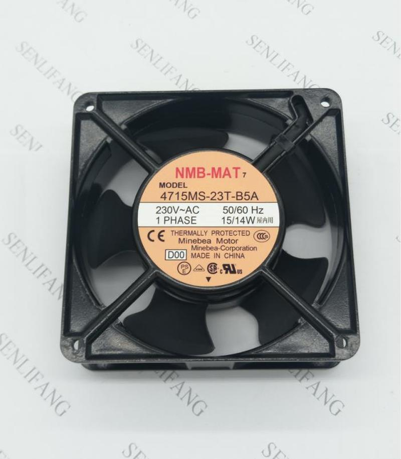 NEW For NMB-MAT Minebea 4715MS-23T-B5A D00 12038 230V 12CM Cooling Fan
