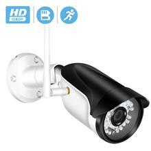 BESDER kablosuz açık güvenlik kamera 1080P 960P 720P IR gece görüş hareket algılama ONVIF Bullet IP kamera wiFi + SD kart yuvası