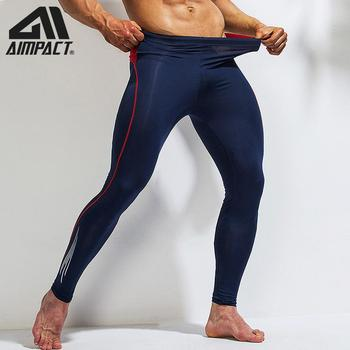 Sport Compression Pants Men Athletic Fitness Running Tight Bottoms Bodybuilding Training Workout Gym Yogo Leggings Quick AM5119 1
