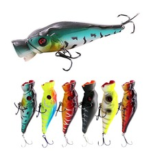 Big Popper Fishing Lures Topwater Floating Wobbler 12.5cm 41g Artificial Hard Bait Lure Iscas Peche Leurre Sea Tackle Tool
