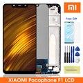 Оригинальный Pocophone F1 ЖК-дисплей для Xiaomi Pocophone F1 дисплей сенсорный экран дигитайзер сборка для Xiaomi Pocophone F1 Lcd