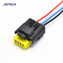 Electric-Wiring-Connector 4pin PC042S4021 Plug Waterproof 211 Automotive 1set