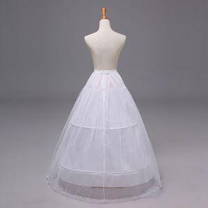 Image 4 - 2 Hoops 1 layer Yarn Skirt Bride Bridal Wedding Dress Support Petticoat Women Costume Skirts Lining Liner E15E