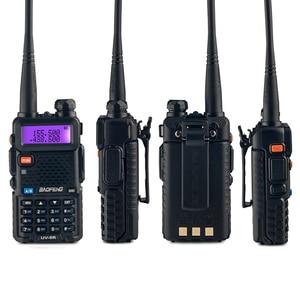 Image 2 - 4PCS Baofeng UV 5R 5W Walkie Talkie UV 5R Powerful Amateur Ham CB Radio Station UV5R Dual Band Portable Transceiver Hu