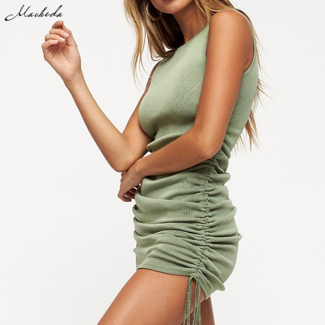 Macheda Summer Casual Slim Dress 3
