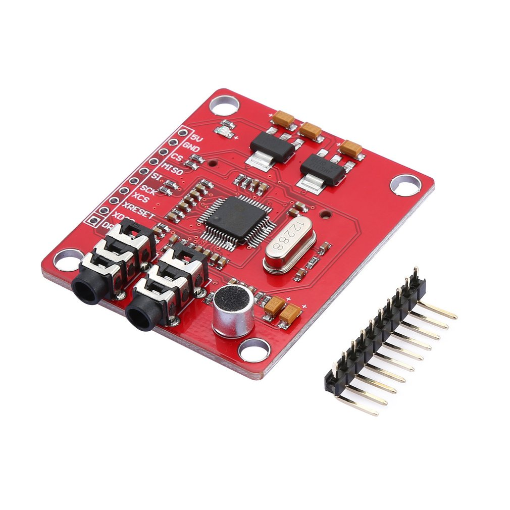 WAVGAT VS1053 MP3 Extension Board Module For Arduino UNO Breakout Board With SD Card Slot Ogg Real-time Recording