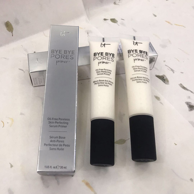 Drop ship It Cosmetics it bye bye pores primer oil free poreless skin perfecting serum primer Moisturizing Makeup Primer Cream 2