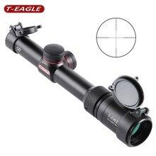T EAGLE-mira telescópica para Rifle de caza, SR1.5-5X20, WA HK, retícula doble, arma óptica táctica, a prueba de golpes con cubierta