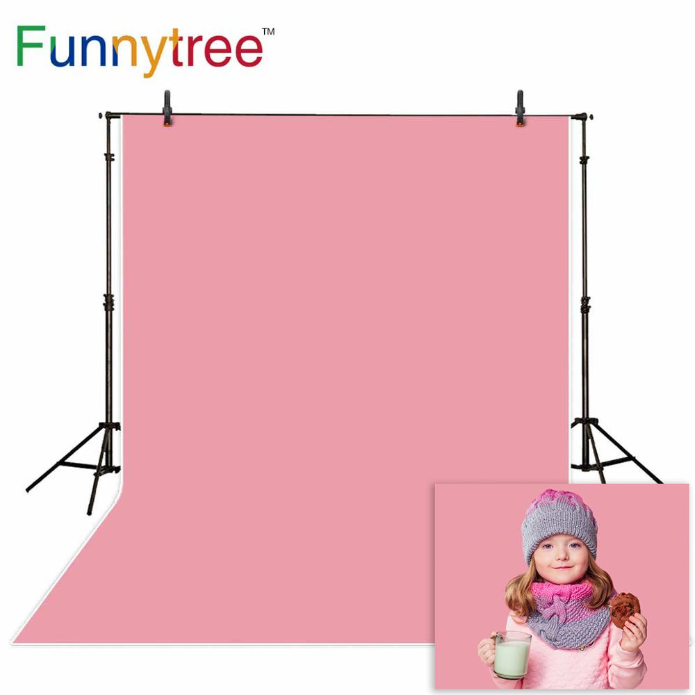 Funnytree background for photography Solid hot Pink Pure Color background portrait photo studio photobooth photophone backdrop