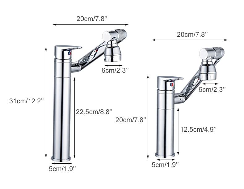 Hb3c580b201f94c66b7b781d0a7a286ceE ELLEN Multifunction Bathroom Sink Faucet Hot Cold Water Mixer Crane Antique Bronze Deck Mounted Universal Water Taps EL1326