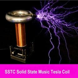 Bobina di Tesla Artificiale Fulmine Produttore di Musica Bobina di Tesla Csst Tesla Tempesta di Fulmini